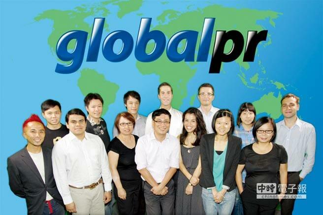 全球公關在台全球化的經營團隊。